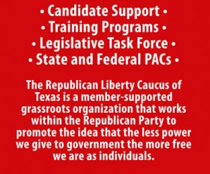 Republican Liberty Caucus of Texas Elects New Officers